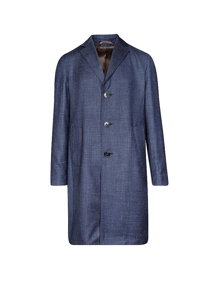Rene lezard mantel blau