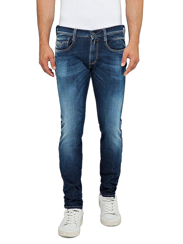 Replay Jeans Slim Fit Anbass Hyperflex Blau | W29/L34