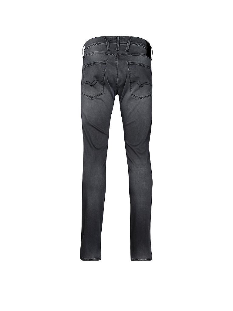 replay jeans anbass hyperflex grau w28 l32. Black Bedroom Furniture Sets. Home Design Ideas