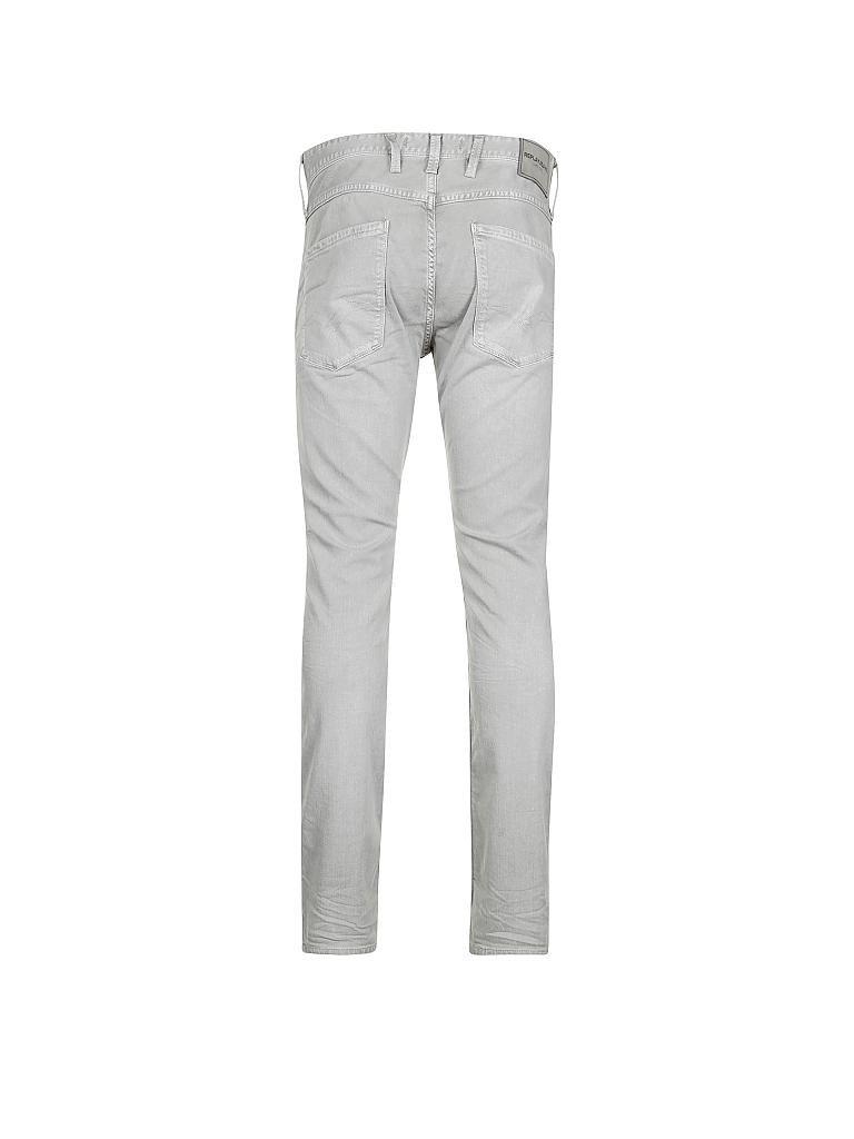 replay jeans slim fit anbass grau w29 w32. Black Bedroom Furniture Sets. Home Design Ideas