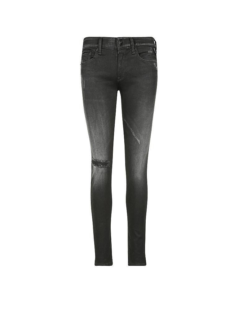 replay jeans slim fit anbass hyperflex grau 24 l30. Black Bedroom Furniture Sets. Home Design Ideas