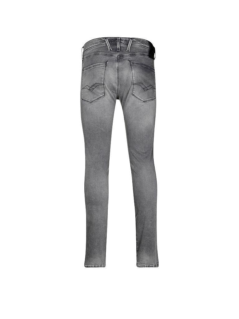 replay jeans slim fit anbass hyperflex grau w28 l32. Black Bedroom Furniture Sets. Home Design Ideas