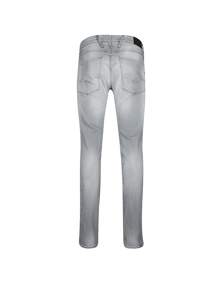 replay jeans slim fit anbass grau w33 l32. Black Bedroom Furniture Sets. Home Design Ideas