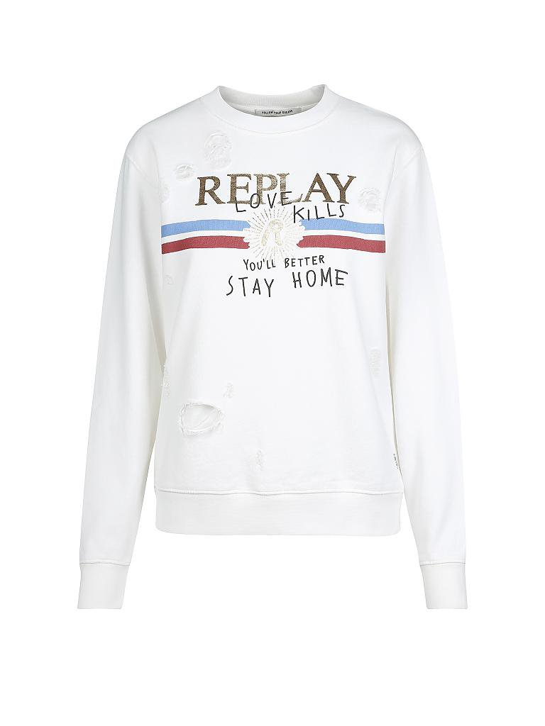 REPLAY Sweater gold | XS