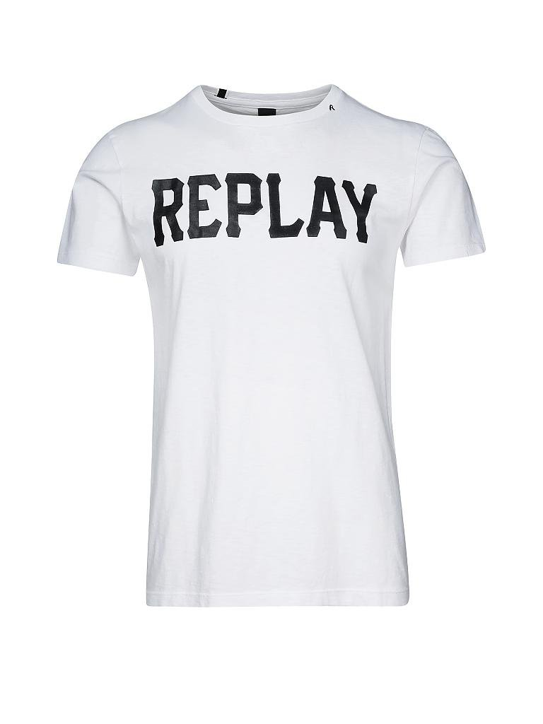 replay t shirt wei xl. Black Bedroom Furniture Sets. Home Design Ideas