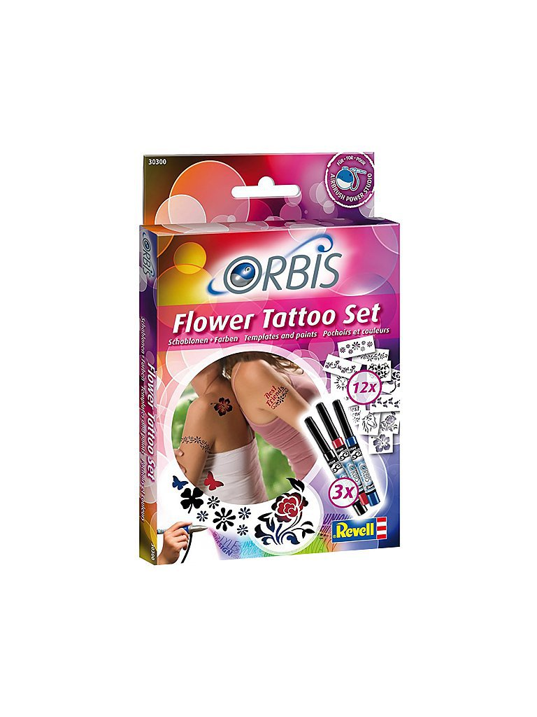 REVELL Orbis - Flower Tattoo Set