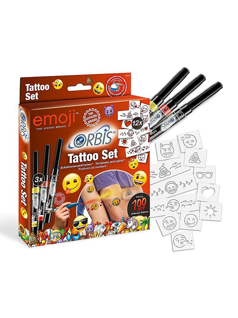 REVELL Orbis Tattoo-Set Emoji