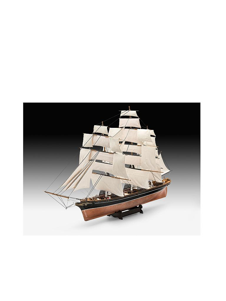 REVELL | Modellbausatz - Cutty Sark 150th Anniversary | transparent