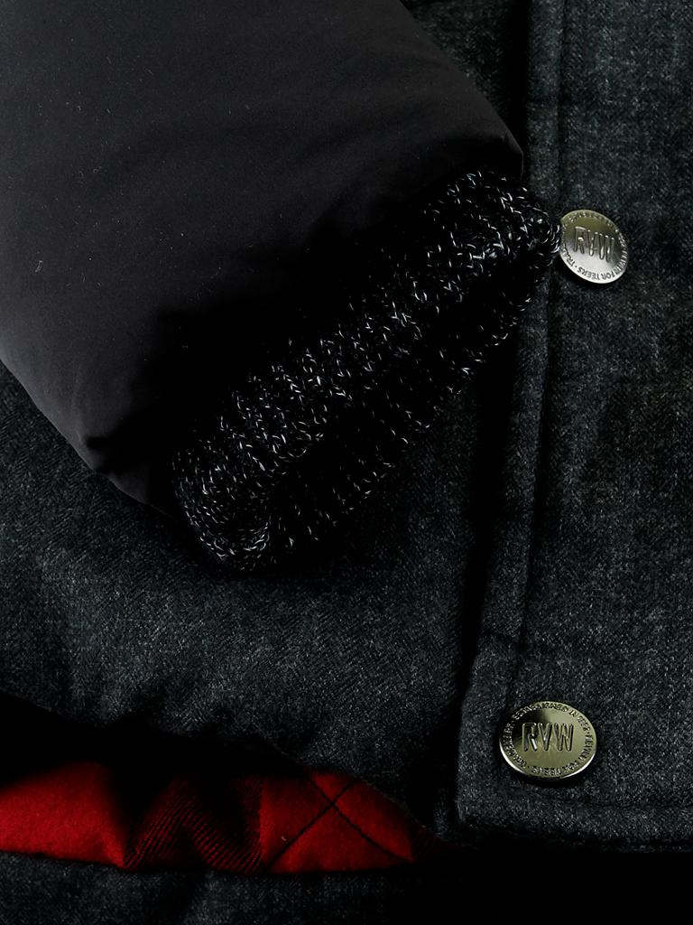 REVIEW | Jacke  | grau