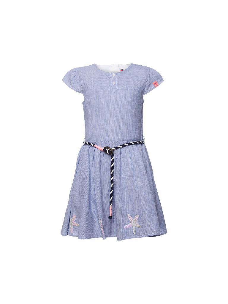 review kleid blau