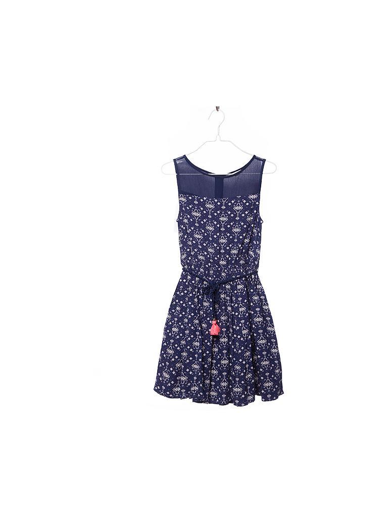 Kleid blau 140