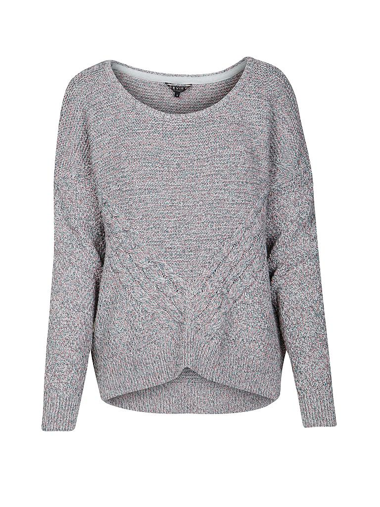 REVIEW | Pullover | grau