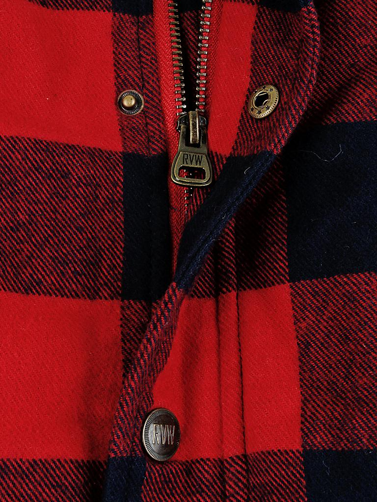 REVIEW | Steppjacke | rot