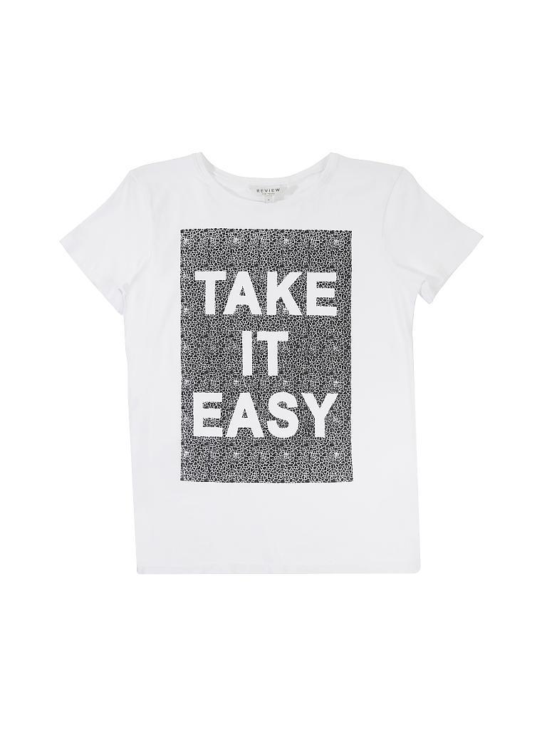 04429000811f89 REVIEW T-Shirt weiß