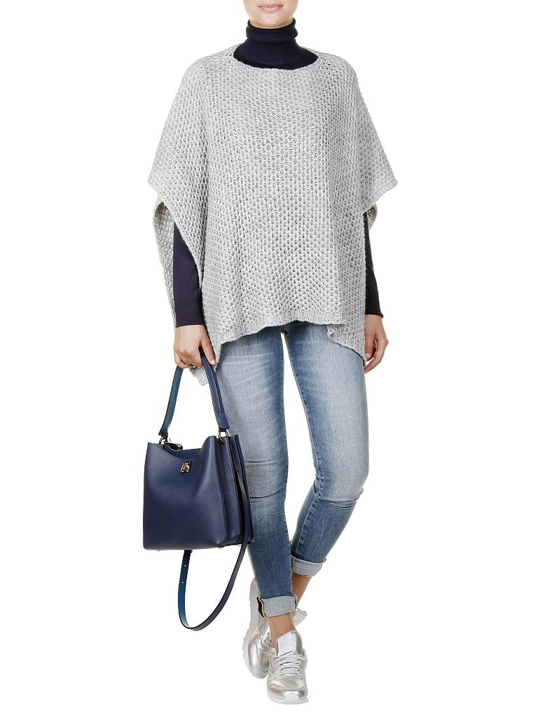 RICH & ROYAL | Poncho  | grau