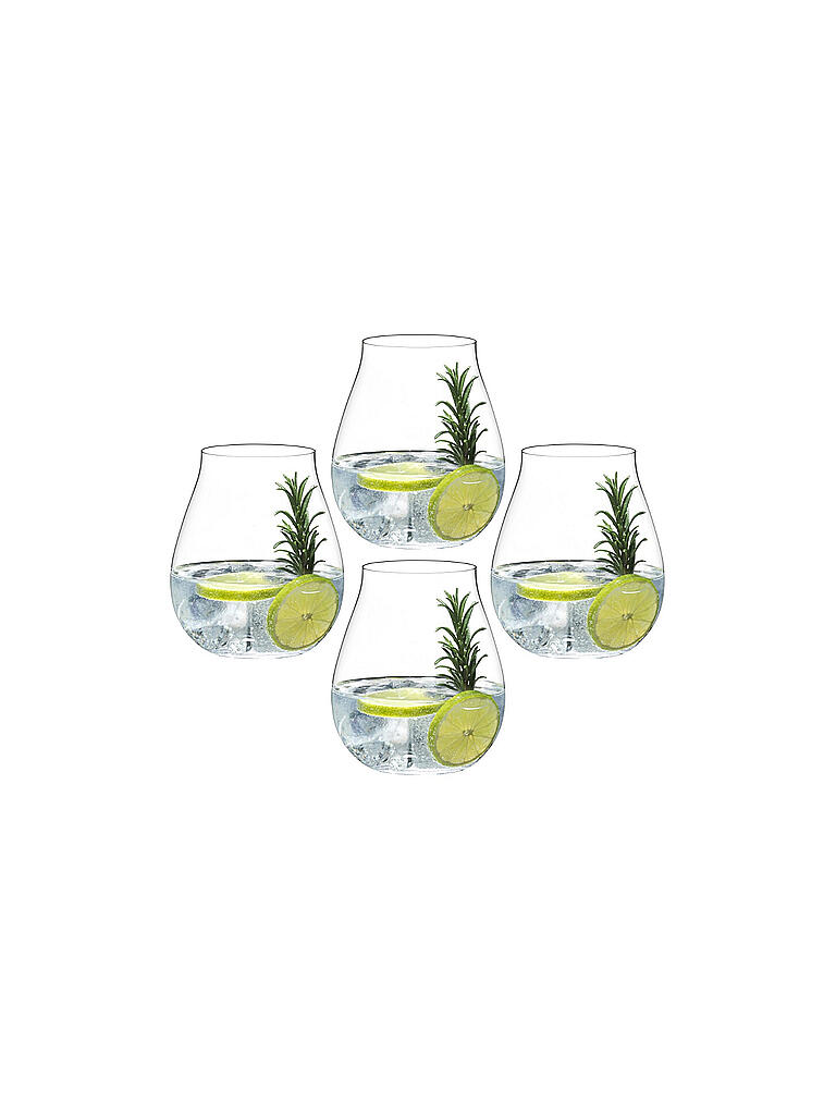 RIEDEL | Gläser-Set Gin 4-er (4x414ml)  | transparent