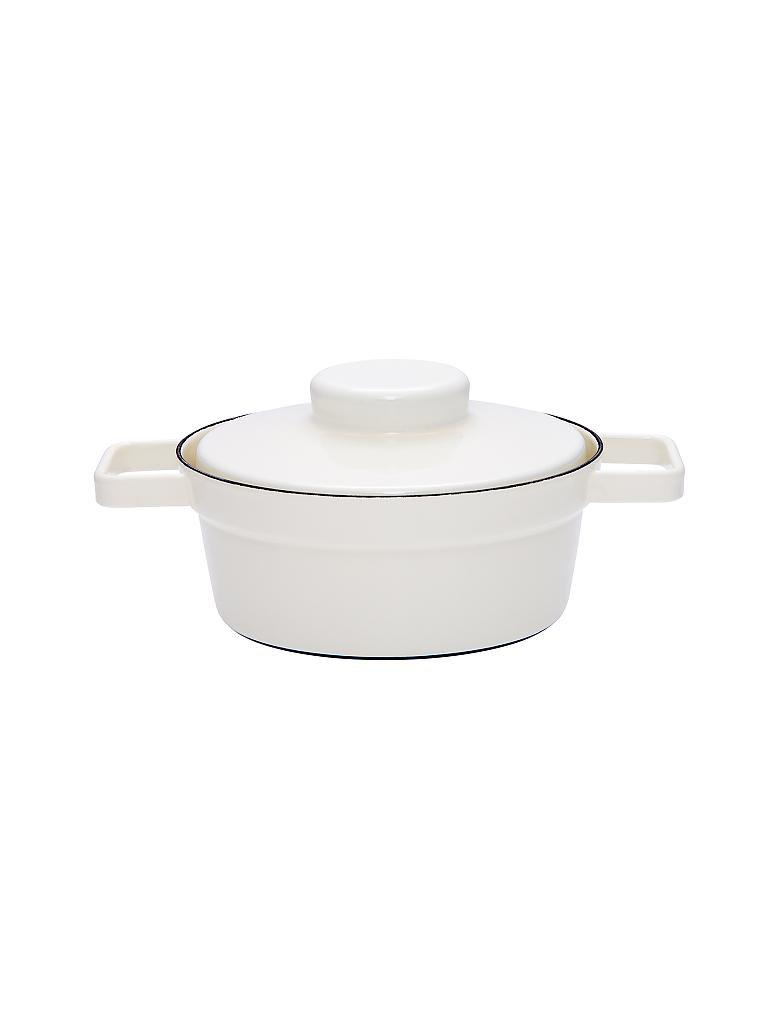riess emaille kasserolle mit deckel aromapot truehomeware 20cm 1 2l wei. Black Bedroom Furniture Sets. Home Design Ideas