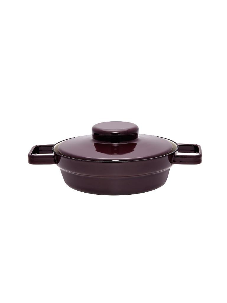 riess emaille pfanne mit deckel aromapot truehomewear 20cm lila. Black Bedroom Furniture Sets. Home Design Ideas