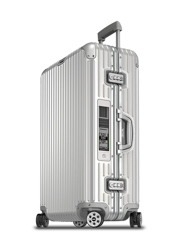rimowa trolley topas multiwheel 73 cm electronic tag silber silber. Black Bedroom Furniture Sets. Home Design Ideas