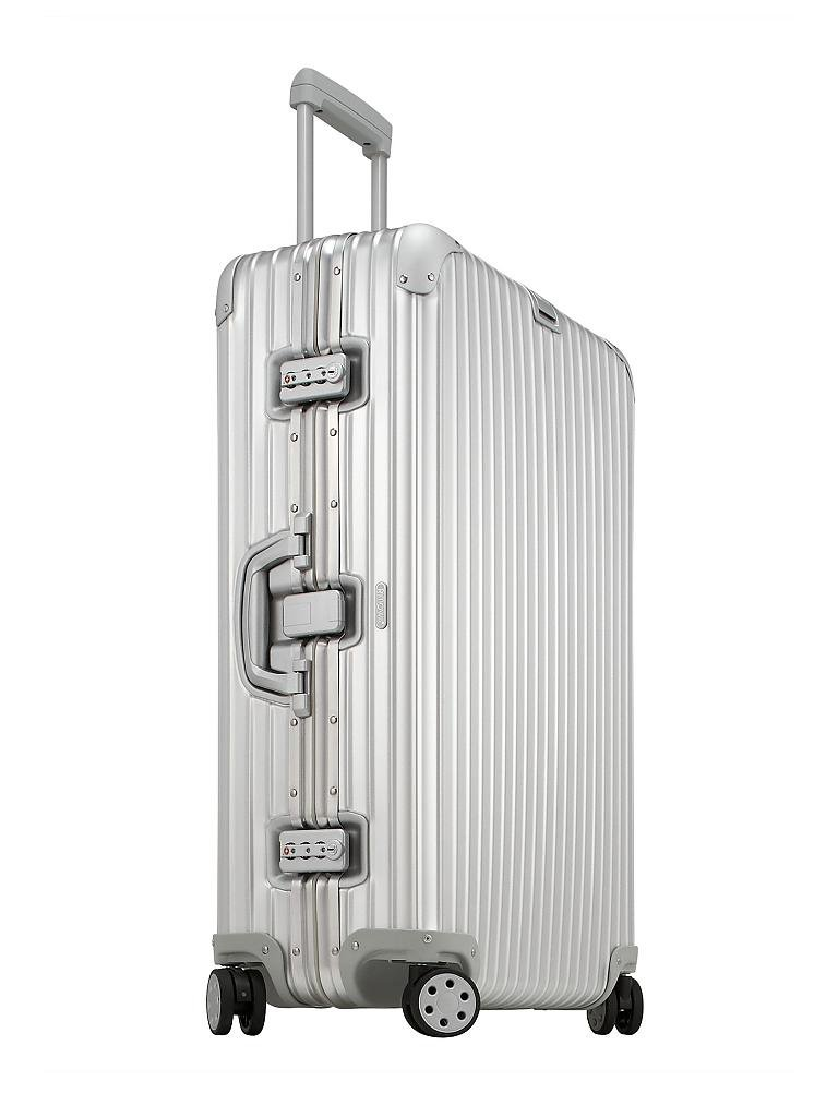 rimowa trolley topas multiwheel 73 cm silber. Black Bedroom Furniture Sets. Home Design Ideas