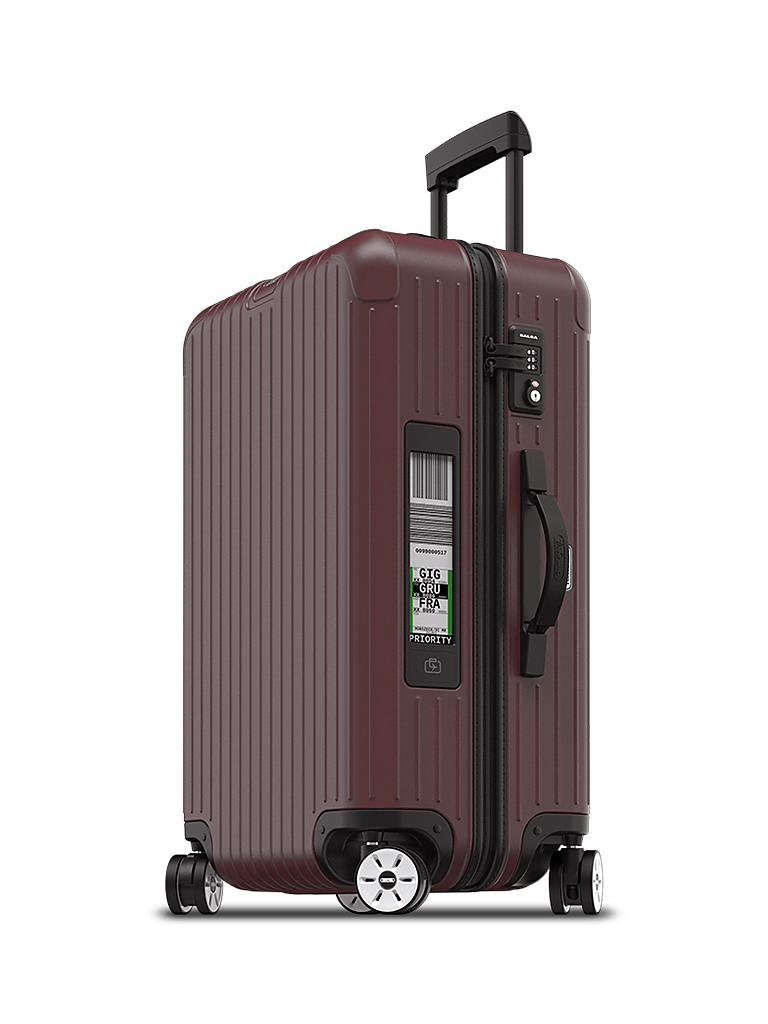 rimowa trolley salsa multiwheel 63cm electronic tag. Black Bedroom Furniture Sets. Home Design Ideas