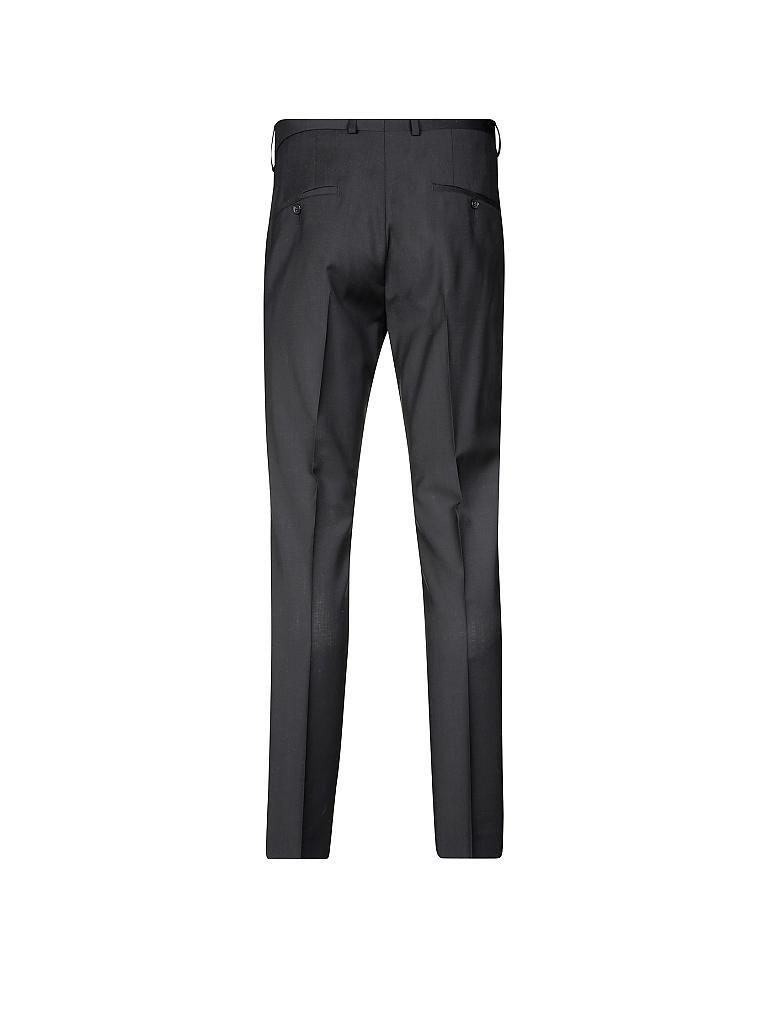 s oliver black label anzug hose slim fit schwarz 44. Black Bedroom Furniture Sets. Home Design Ideas