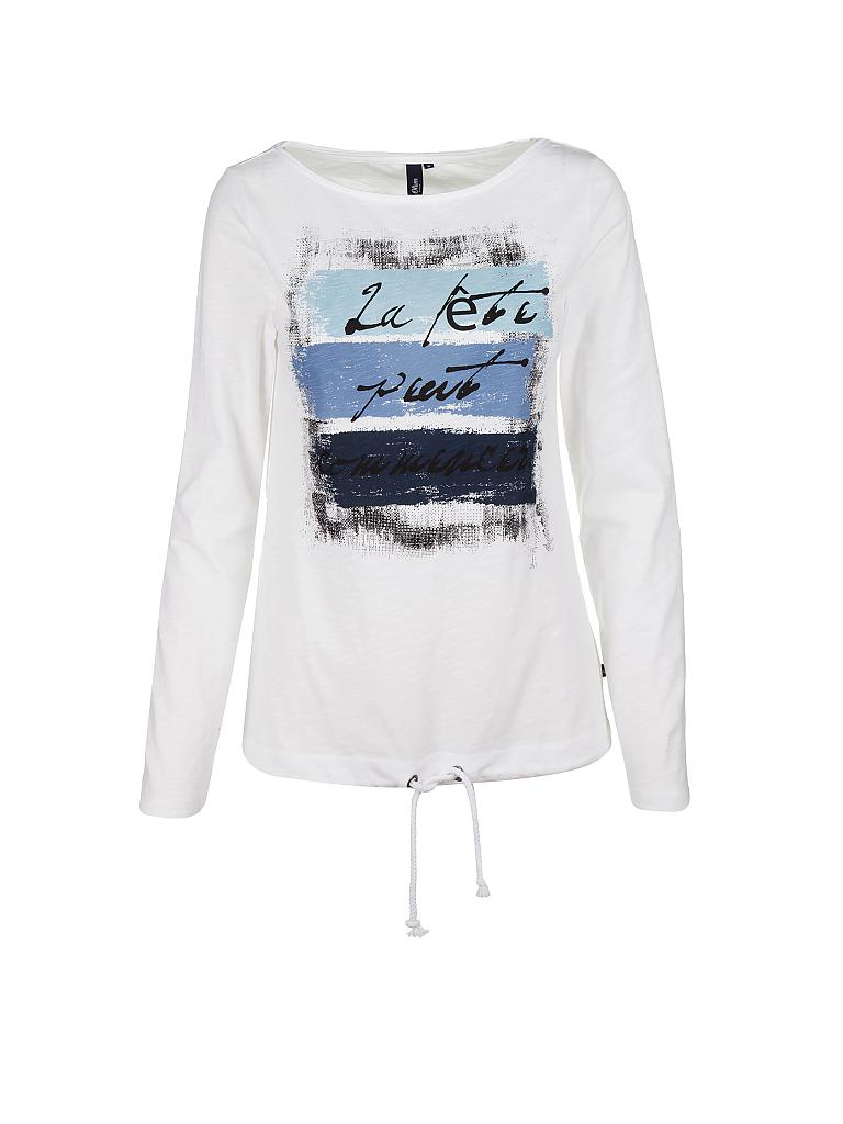 S.OLIVER DENIM T-Shirt weiß   XS b4f5d5cc76