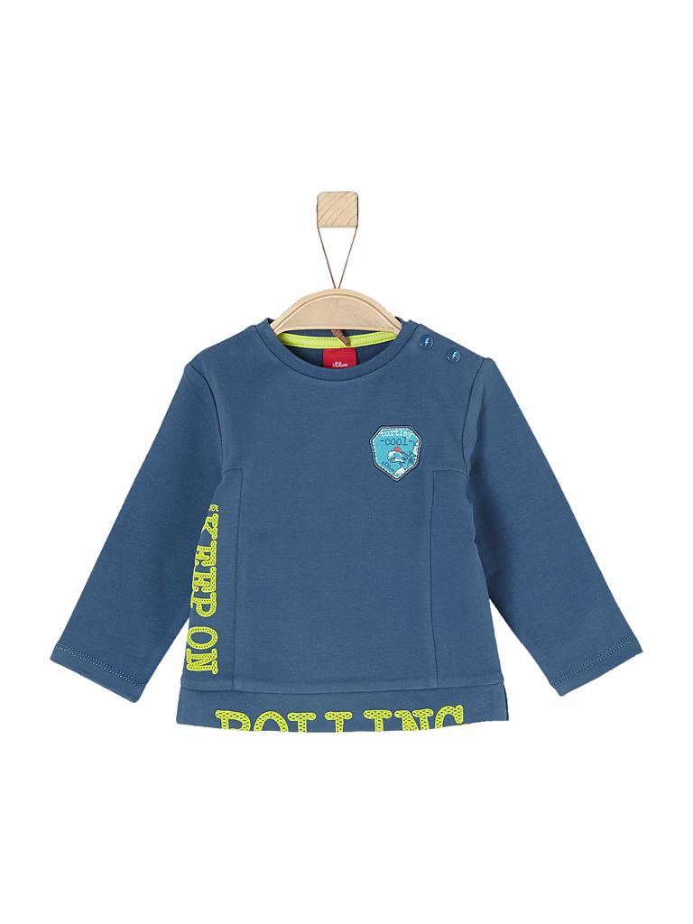 s oliver baby knabensweater blau 68. Black Bedroom Furniture Sets. Home Design Ideas