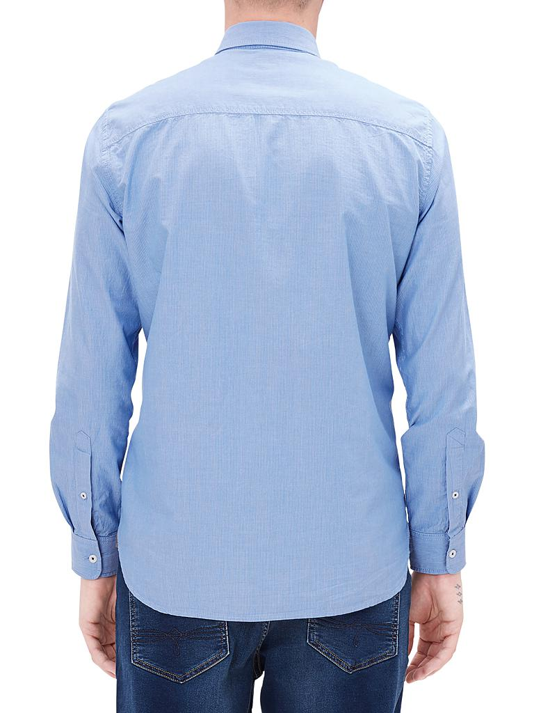 S.OLIVER | Hemd Regular-Fit  | blau