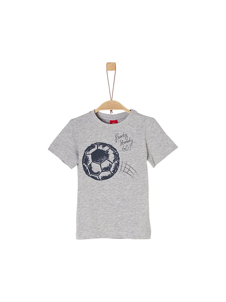 S.OLIVER | Jungen T-Shirt Regular-Fit | grau