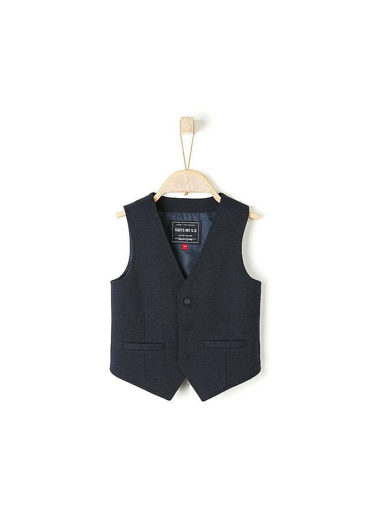 S.OLIVER | Jungen-Gilet Regular-Fit | blau