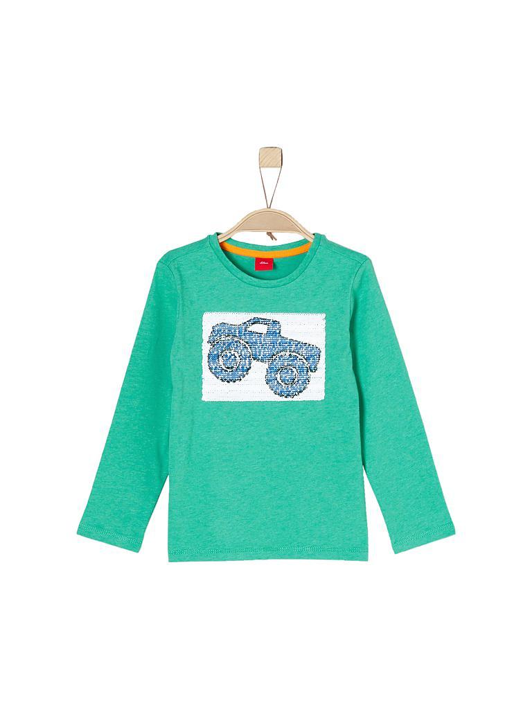 S.OLIVER Kinder-Shirt grün   140 11982ae334
