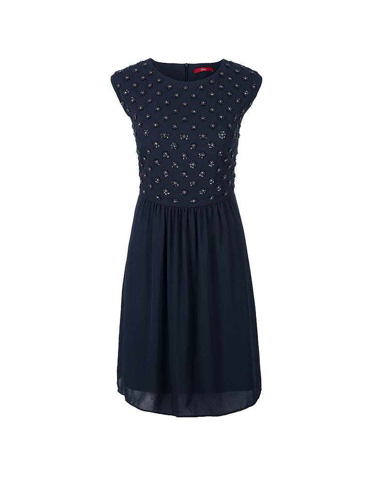 S.OLIVER Kleid blau | 36