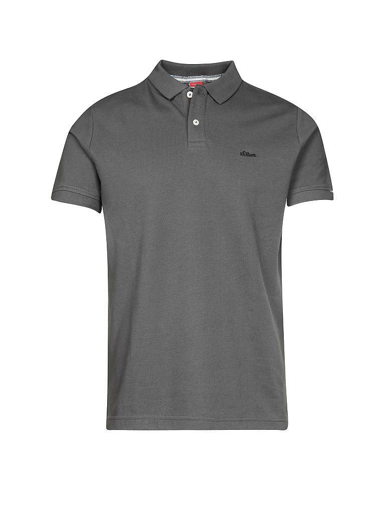caf528a57d S.OLIVER | Poloshirt | grau
