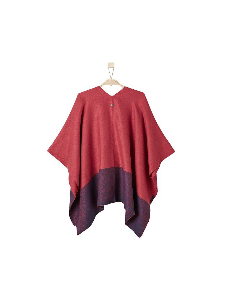 S.OLIVER | Poncho | rot