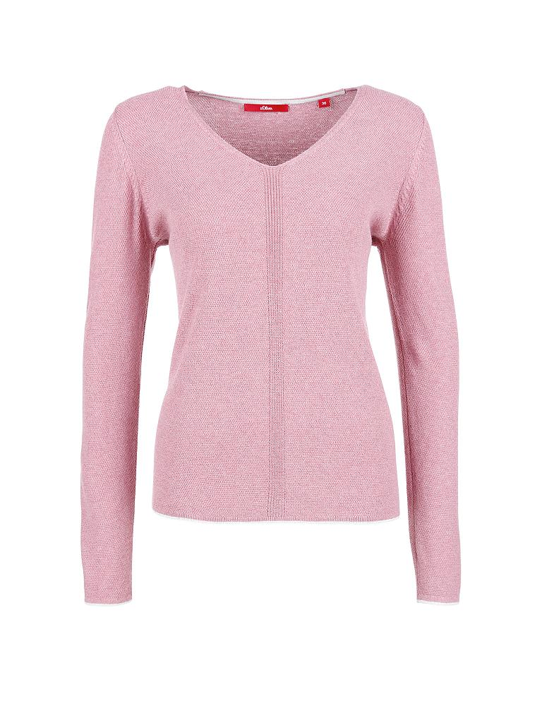 S.OLIVER Pullover rosa   44 6c2d707d02