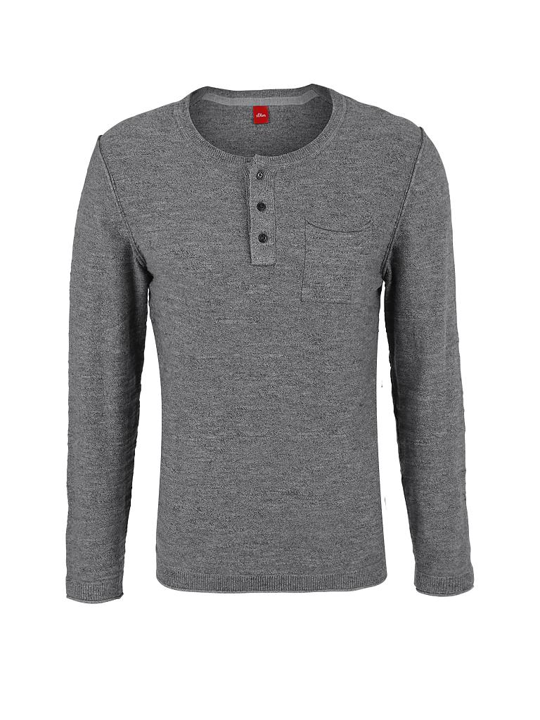 S.OLIVER | Pullover | grau