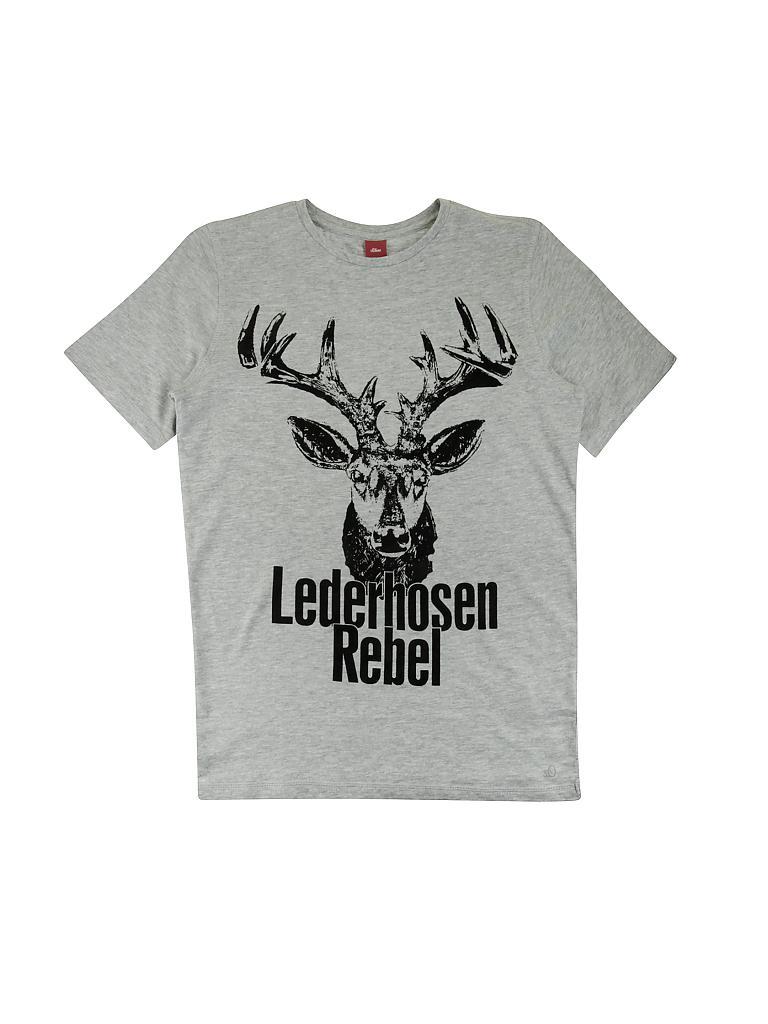 S.OLIVER T-Shirt grau   L 433b40e513
