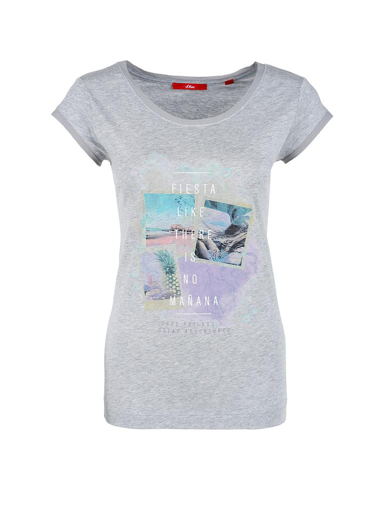 S.OLIVER T-Shirt grau   34 2d7e5b1848