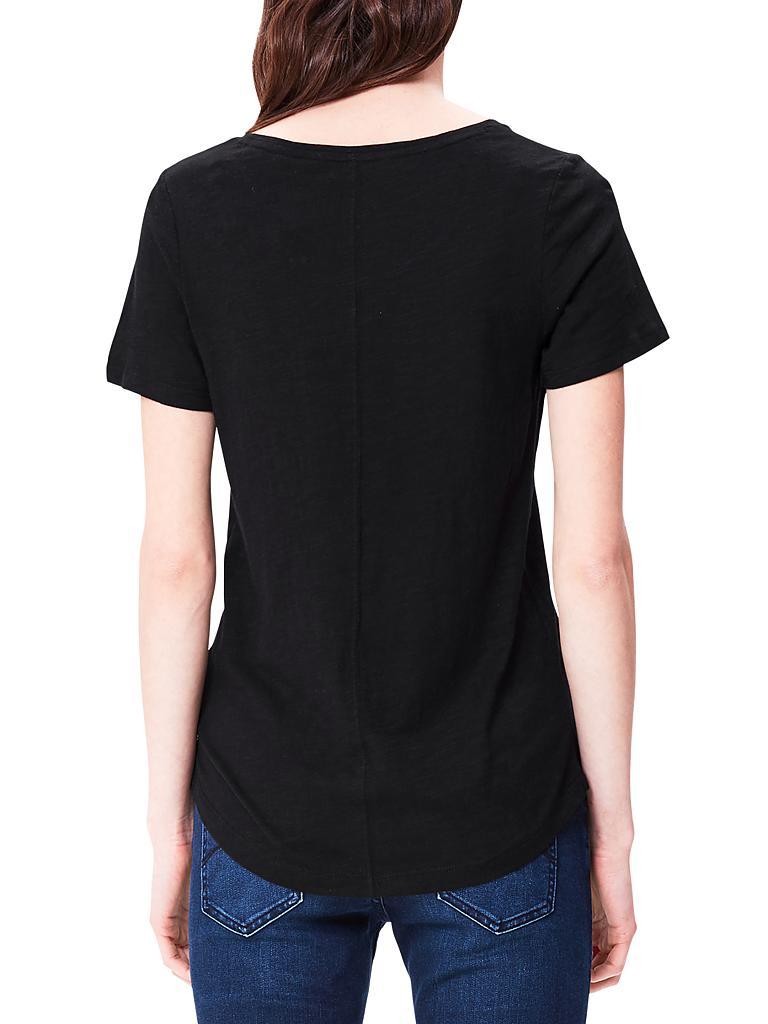 S.OLIVER T-Shirt schwarz   34 8a75a8e905