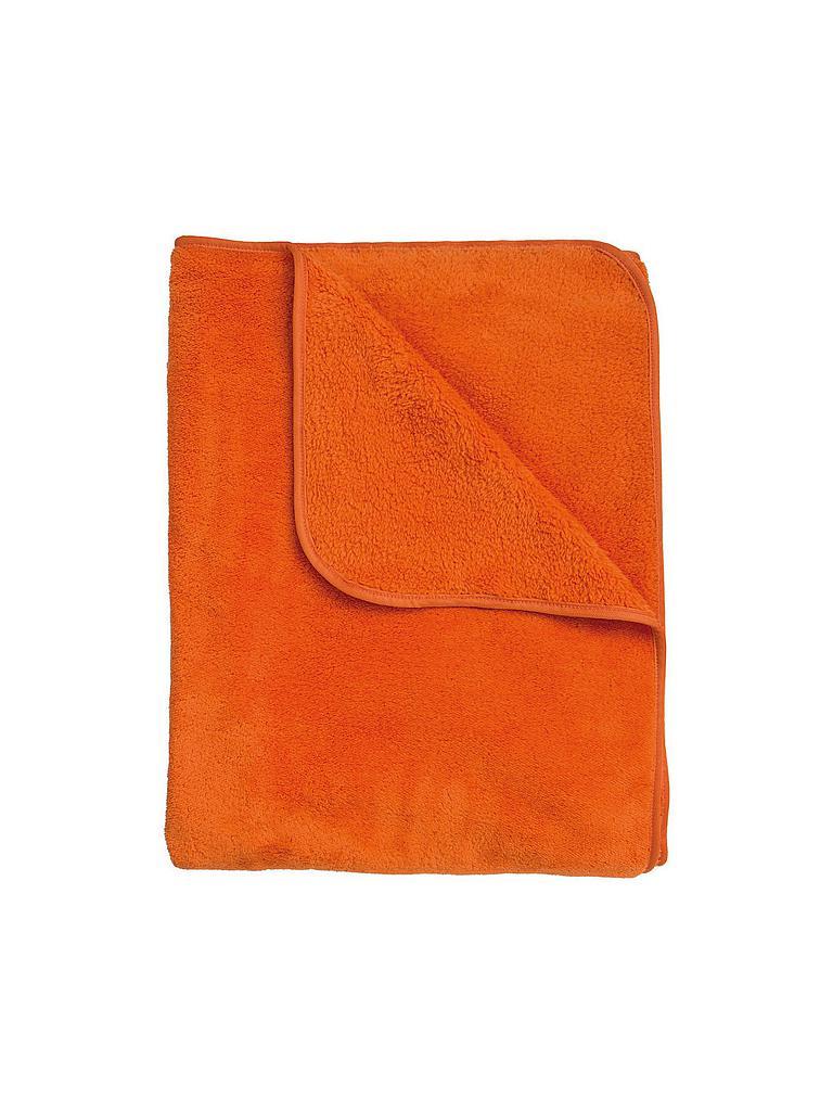 s oliver tagesdecke wellsoft 150x200cm orange orange. Black Bedroom Furniture Sets. Home Design Ideas