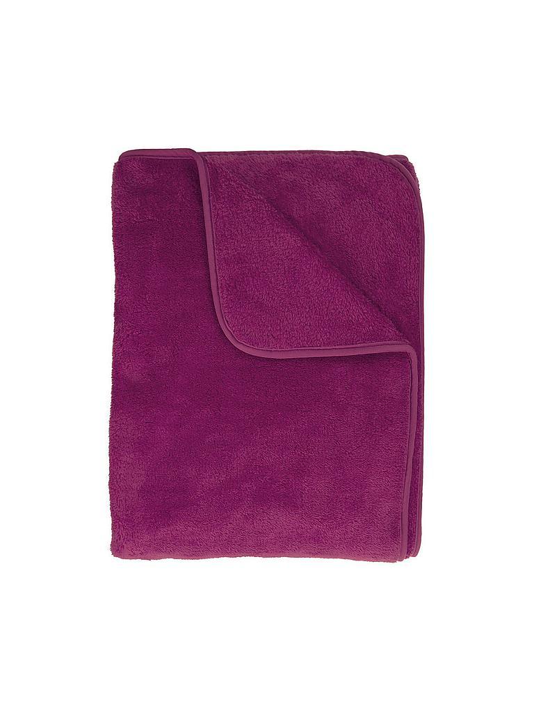 s oliver tagesdecke wellsoft 150x200cm pflaume pink. Black Bedroom Furniture Sets. Home Design Ideas