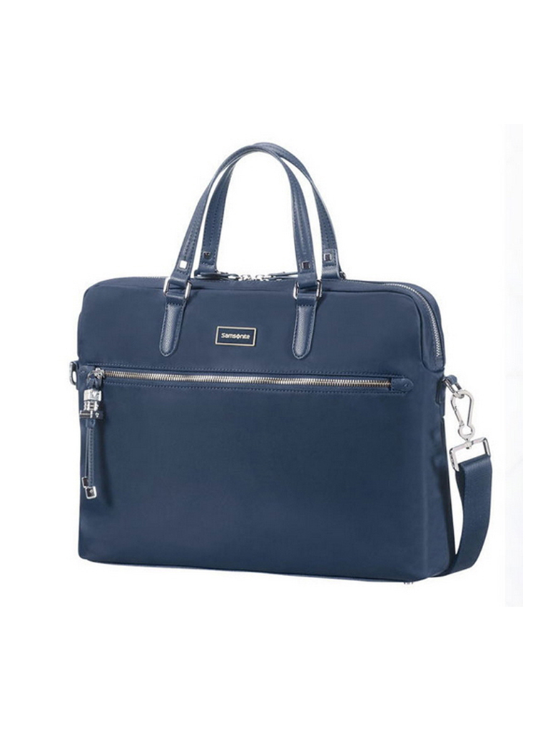 samsonite laptoptasche karizza 15 6 blau. Black Bedroom Furniture Sets. Home Design Ideas