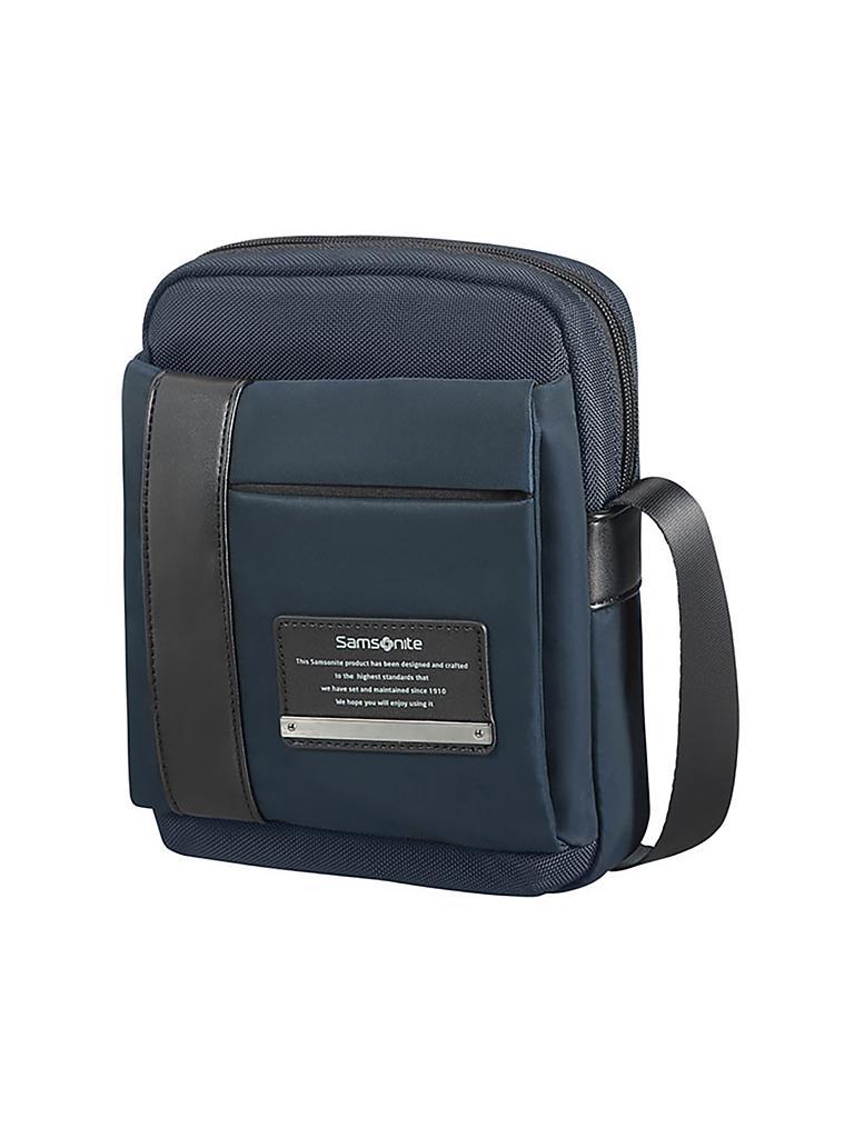 samsonite tasche crossoverbag openroad blau. Black Bedroom Furniture Sets. Home Design Ideas
