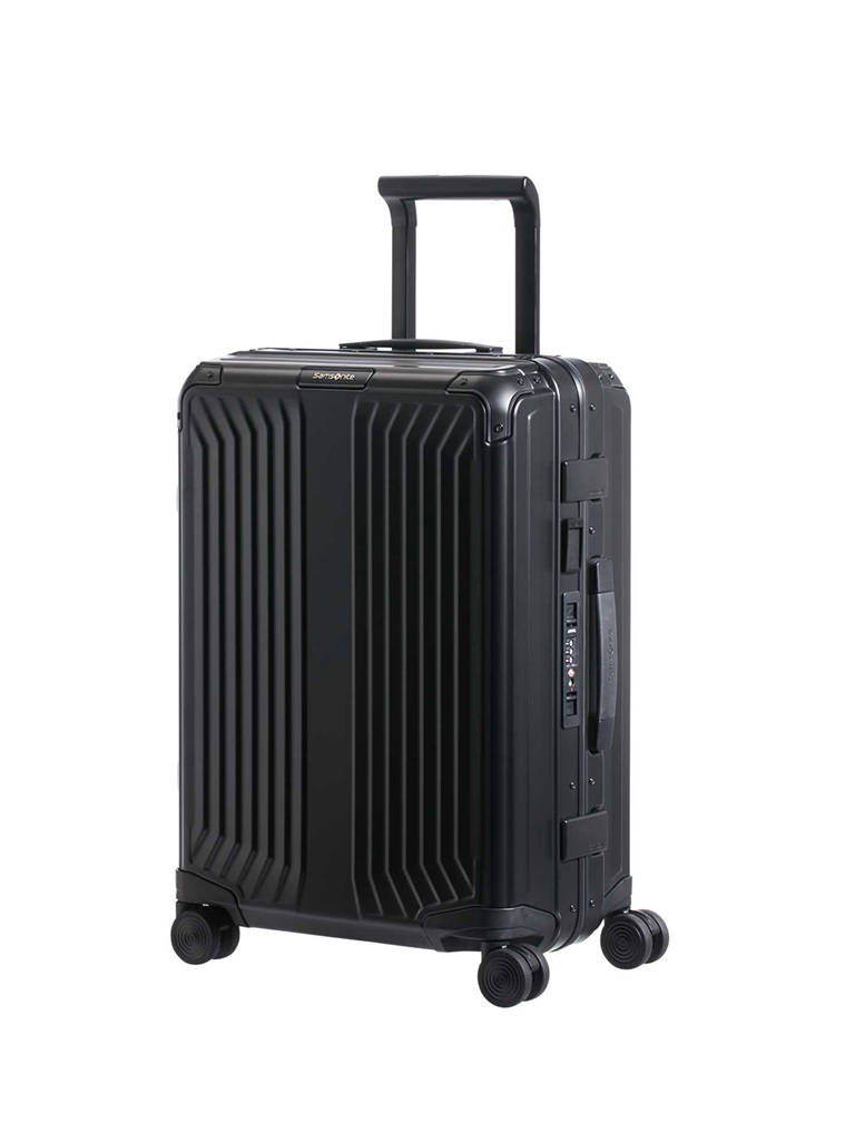"SAMSONITE | Trolley ""Lite-Box Alu™"" 55cm (Black) 122705 