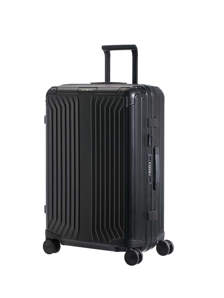 "SAMSONITE | Trolley ""Lite-Box Alu™"" 69cm (Black) 122706 