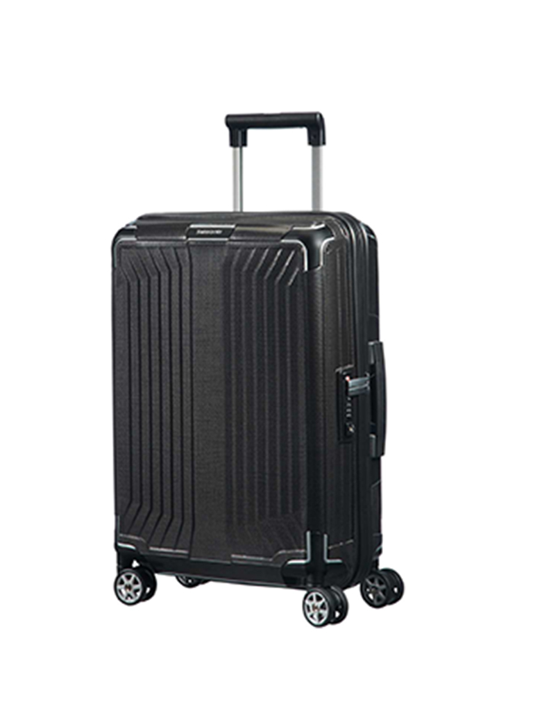 "SAMSONITE | Trolley ""Lite-Box Spinner"" 55cm (Black) 