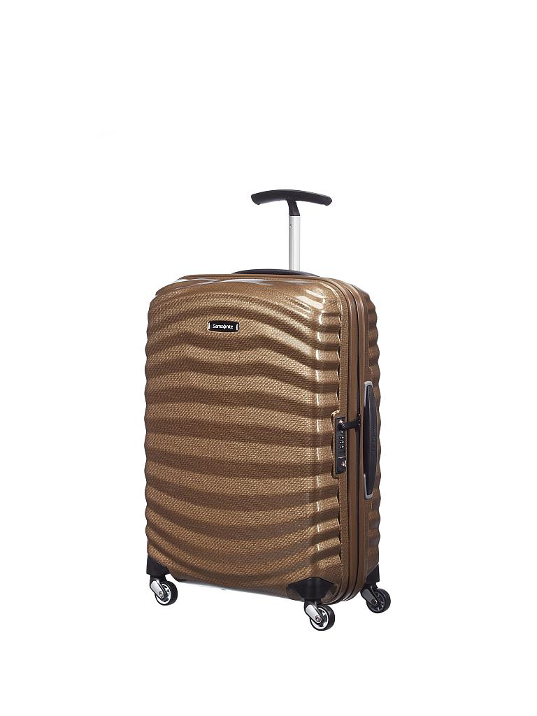 "SAMSONITE | Trolley ""Lite-Shock Spinner"" 55 cm (62764 1775 Sand) 