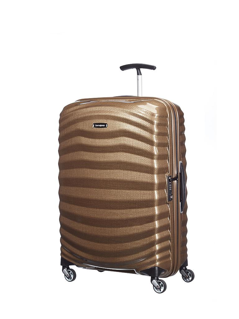"SAMSONITE | Trolley ""Lite-Shock Spinner"" 69 cm (62765 1775 Sand) 