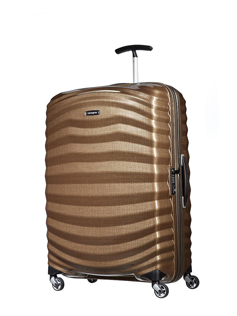 "SAMSONITE | Trolley ""Lite-Shock Spinner"" 75 cm (62766 1775 Sand) 